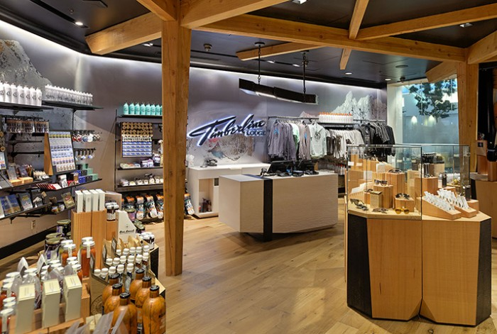 Timberline Lodge Store at Portland International Airport for Bremik Construction.